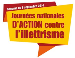logo journées illettrisme 2014