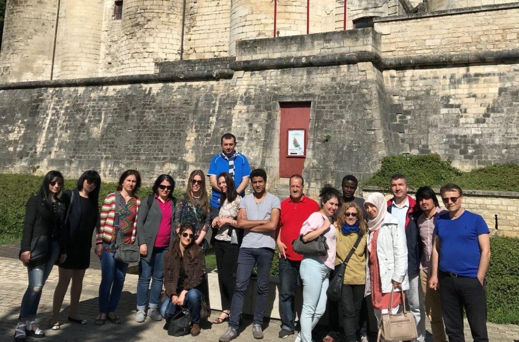Visite guidée au Donjon de Niort avec Alphabenn et le CADA-FTDA